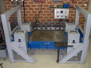 Vibration test table model 4W- HXY