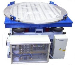 Vibration test table model 4W